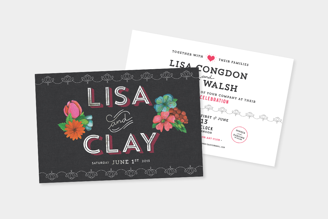 Wedding invitations - annadorfman.com