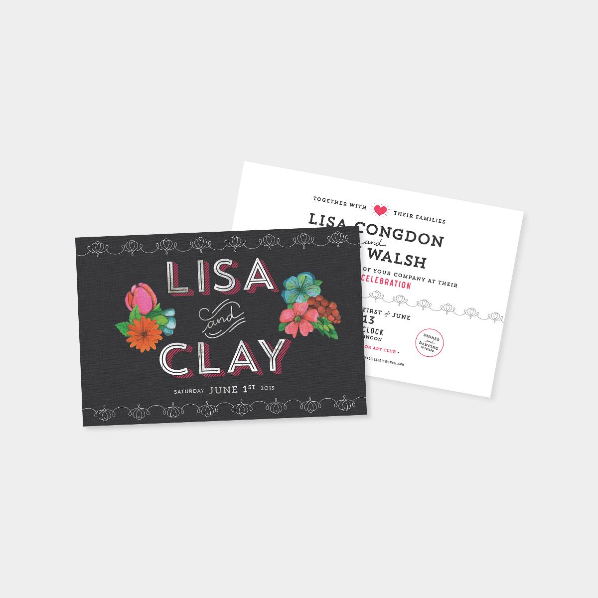Wedding invitations - annadorfman.com